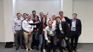 The MDS Young Members group at the International Congress in Berlin, Germany, June 2016.