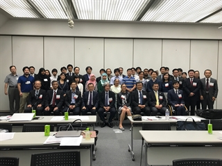 "Faculty and participants gather during the course ""Evidence Based Medicine in Parkinson's Disease and Gait Disorders"" in Kyoto, Japan, in September 2017."