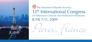 13th International Congress Paris, France 2009
