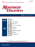 Movement Disorders Japanese Edition August 2017