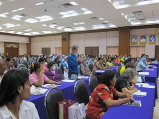 Thai Parkinson Disease-Movement Disorders Society Audience