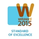 Web Award 2015 - Standard of Excellence