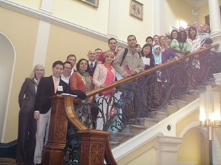 Basic Movement Disorders Course participants gather in Dublin, Ireland, in June 2012.